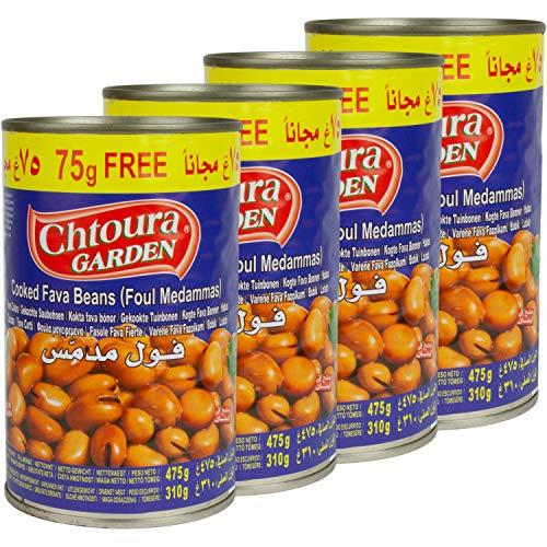 Chtoura Garden - Foul Medammas typisch orientalisch im 4er Set á 400 g + 75 g gratis