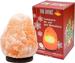 LAMPARA DE SAL NATURAL NATURAL HIMALAYA 1-2KG [Clase de eficiencia energética E]