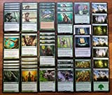 Magic: The Gathering Green Elf Ramp & Overwhelm Custom Magic Deck