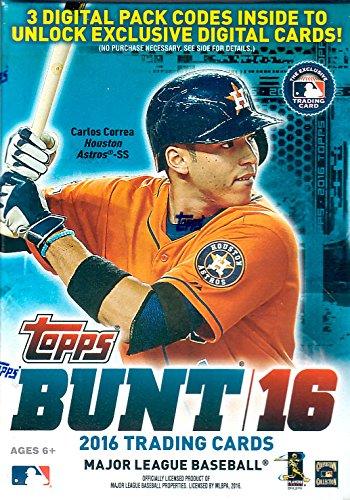 2016 Topps Baseball Series Bunt Ungeöffnete Blaster Box von Pack mit Codes für 3 Exclusive Digital Karten Plus Anderer möglicher Einsätze