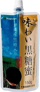 大東製糖 味わい黒糖蜜 150g×4袋