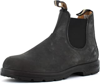 Blundstone Chaussures Unisexes Beatles 587 Rustic Black Taille 38.5(5.5) Black