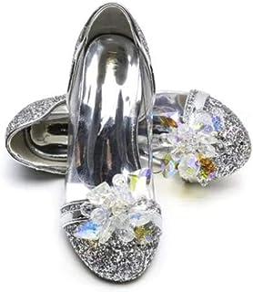 ELSA & ANNA Buona qualità Ragazze Ultimo Design Principessa Regina delle Nevi Gelatina Partito Scarpe Sandali SIL15-SH