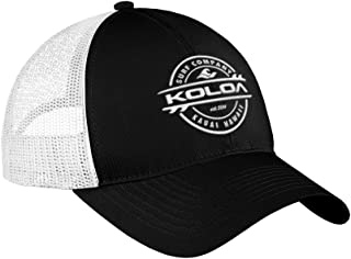 Joe's USA Koloa Surf Thruster Logo Old School Curved Bill Mesh Snapback Hats