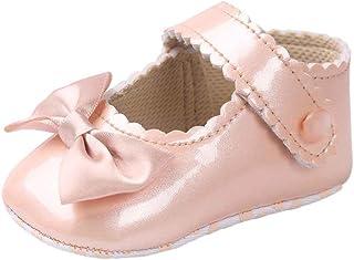 e9362bd976071 DAY8 Chaussure Bébé Fille Princesse Chaussure Bébé Fille Premier Pas Bapteme  Bowknot Fashion Chaussures Bébé Garçon