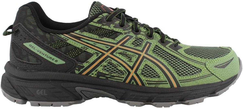ASICS Gel-Venture 6 Trail Running shoes - Men's, Cedar Green Lava orange, Medium, T7G1N.300-9.5