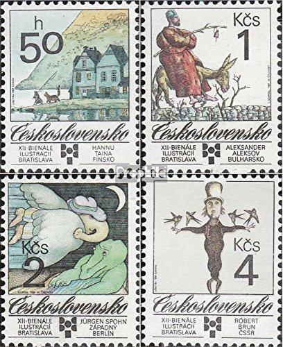 Tchécoslovaquie 3013-3016 (complète.Edition.) 1989 Enfants (Timbres pour Les collectionneurs)