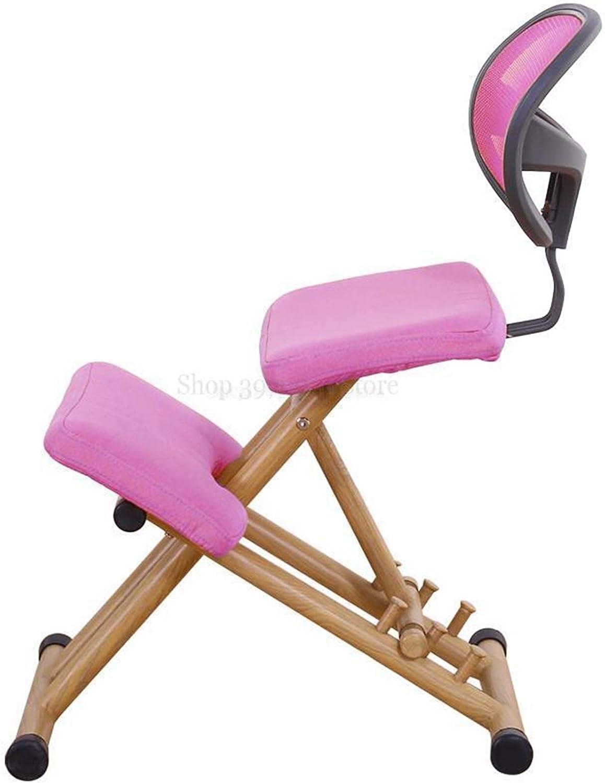 GuanXian Ergonomique Conçu Genoux Tabouret Hauteur de la poignée Ajuster Bureau Genou Chaise Ergonomique correcte Chaise Posture Non Deformed (Couleur : 7) 6