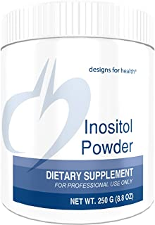Designs for Health Inositol Powder - 700mg, Mood, Relaxation + Hormone Support (250g, 345 Servings)