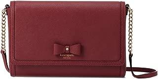 Kate Spade Hazel Court Alek Leather Crossbody Bag, Merlot