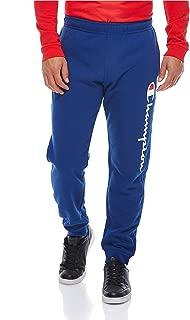Champion Blue Rib Cuff Pants For Men, Size XXL