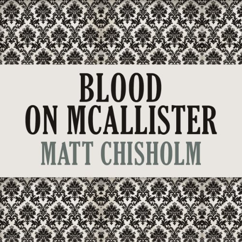 Blood on McAllister audiobook cover art