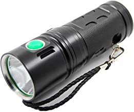 1300C XHP70 3500Lumens 4Modes Dimming USB Rechargeable Portable LED Flashlight 18650