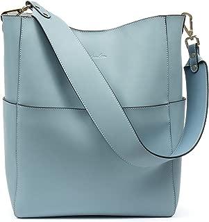 Women's Leather Designer Handbags Tote Purses Shoulder Bucket Bags