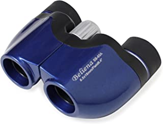 MIZAR(ミザールテック) 双眼鏡 6.5倍 18mm 口径 ポロプリズム式 コンパクト ブルー SB-65A-BL