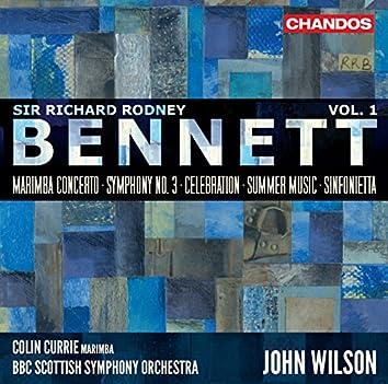 Bennett: Orchestral Works, Vol 1