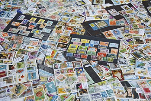 Goldhahn 10.000 Alle Welt Briefmarken für Sammler