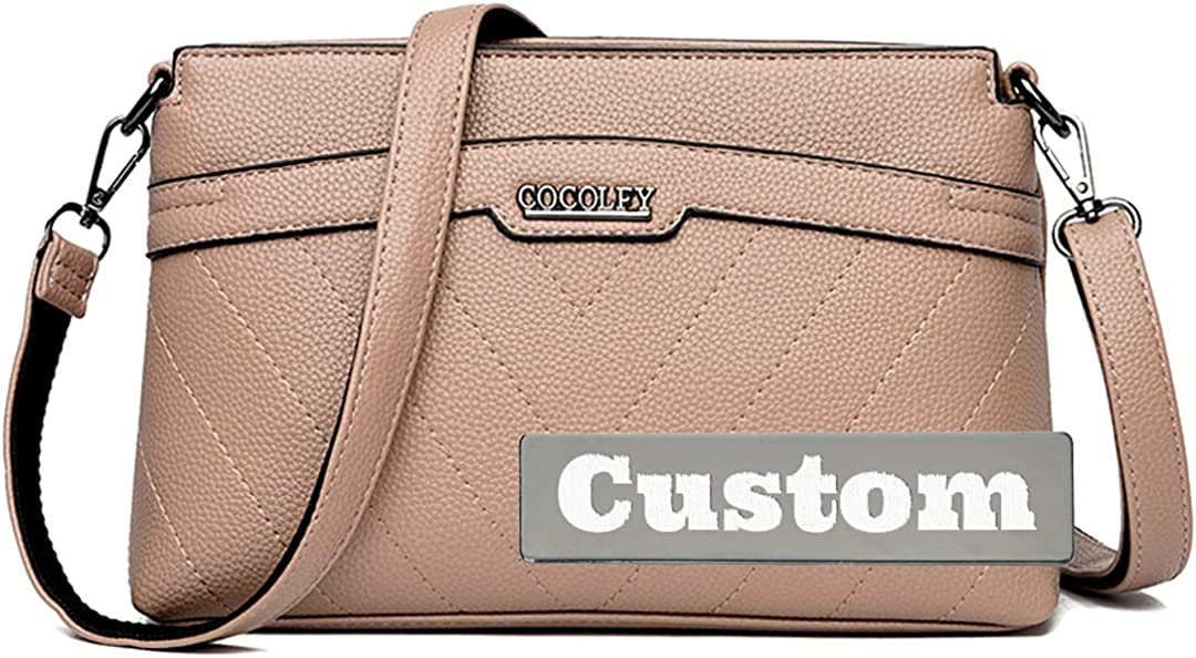 Custom Name Lightweight Small Shoulder for Leather Tulsa Special price Mall Bag Women Pur