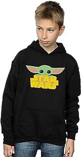 Star Wars Niños The Mandalorian The Child and Logo Capucha
