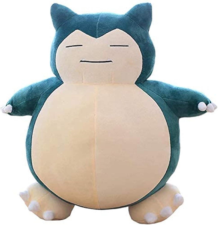 BlackSwan Jumbo Snorlax Pokemon Center Kabigon Plush Toy Soft Doll Figure Pillow Kids Gift (30cm)