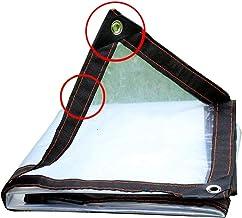 PENGFEI dekzeil dekzeil tuinieren plastic film hoofdevernieuwing stofdicht anti-oxidatie 23 maten (kleur: helder, grootte:...