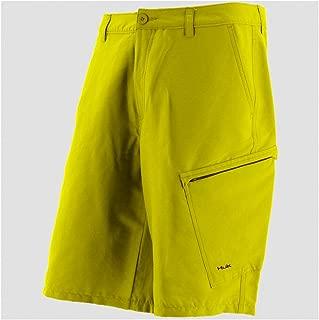Huk Hybrid Lite Short, Bright Yellow, 32