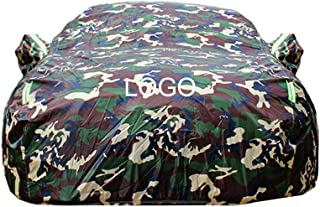 Car Cover Compatible with Mazda Roadster Car Cover Car Tarpaulin Sunscreen Waterproof Car Cover Body Cover Custom Logo Custom Car Cover (Color : Camouflage, Size : Plus Cotton)