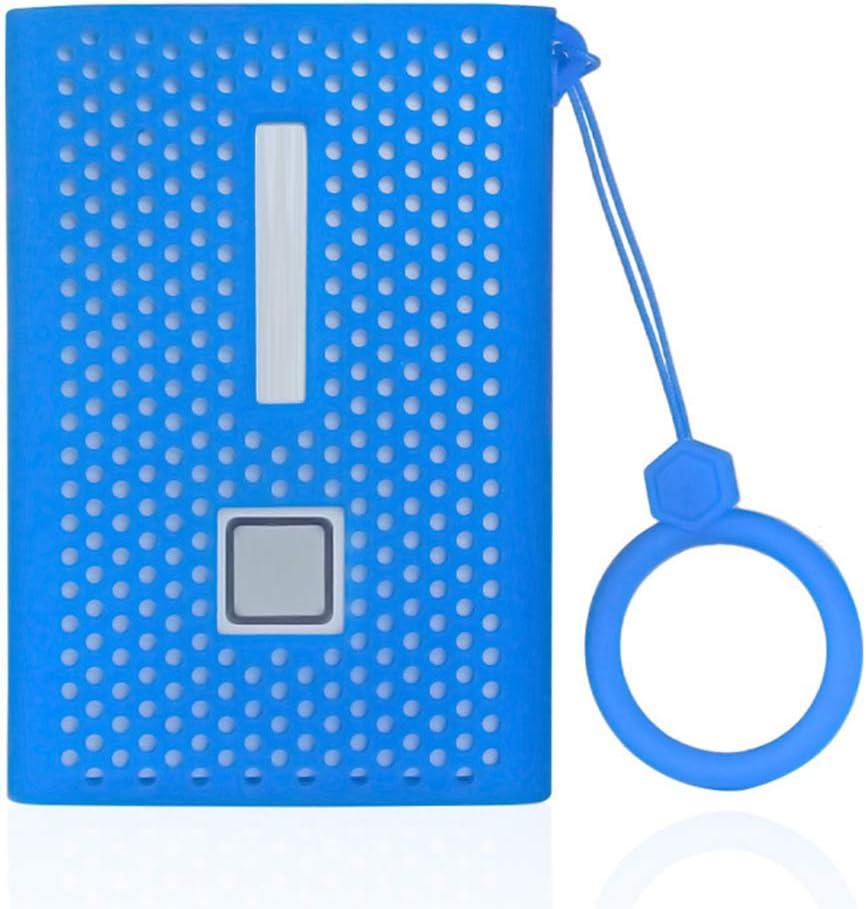 geneic Rutschfeste weiche Silikon-Schutzh/ülle mit Umh/ängeband f/ür Sam-sung T7 Solid State Drive Mobile Festplatte
