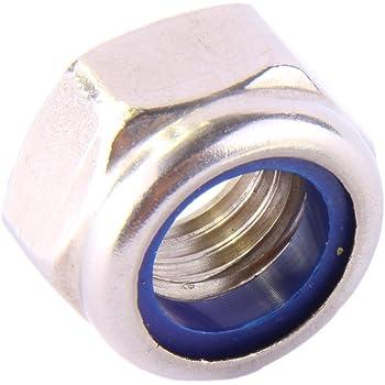 - M5 - 200 St/ück SC-Normteile hohe Form - DIN 982 // ISO 7040 - SC982 selbstsichernd V2A Edelstahl A2 Stoppmuttern Sicherungsmuttern