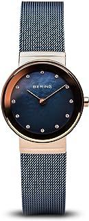 Bering 丹麦品牌 经典系列 防水钢带石英表 时尚潮流镶钻腕表简约女表