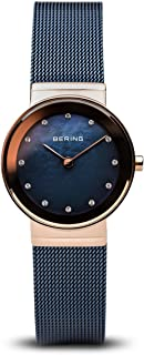 BERING Womens Analogue Quartz Watch with Stainless Steel Strap 10126-367