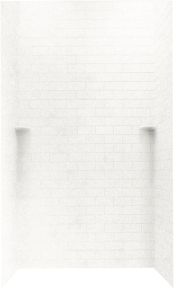 Swanstone STMK964848.011 48-in Some reservation D x 96-in W Subway Tile H Outlet SALE