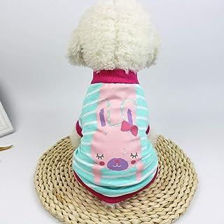ペット用服 用品 Joielmal 愛猫 愛犬服 上着 可愛い 動物柄 洋服 トップス パーカー ストライプ かわいい オーバー Tシャツ 子猫 犬の服 イヌ 小型犬 中型犬 お出掛け お散歩 コスプレ 衣装 年賀状