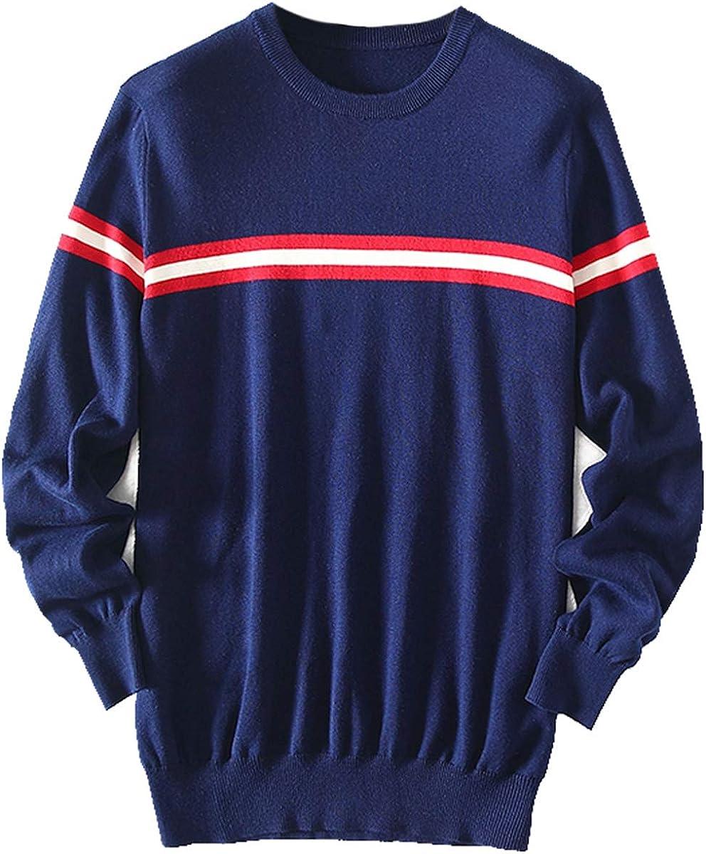 zhili Men's Pullover Sweater 100% Cotton