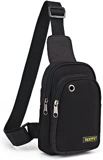 FASITE PTN090 Sling Chest Shoulder Tool Bag Pouch, Black
