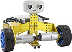 Tenergy ODEV Tomo STEM Toy 2-in-1 Robot Kit DIY Robotic Transformable and Programmable APP Controlled Building Kit for Kids Age 14+