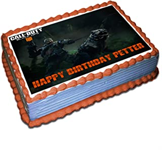 Call of Duty Black Ops 4 Nomad Personalized Cake Toppers Icing Sugar Paper 1/4 8.5 x 11.5 Inches Sheet Edible Frosting Photo Birthday Cake Topper (Best Quality Printing)