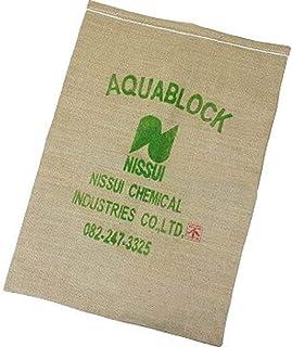 日水化学工業 防災用品 吸水性土のう 「アクアブロック」 NDシリーズ 再利用可能版(真水対応) ND-20 20枚入り