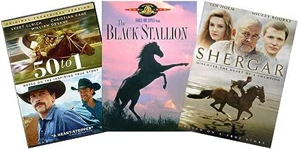 Ultimate Horse Movie 3-Film DVD Collection: 50 to 1 / Black Stallion / Shergar