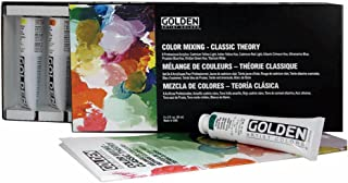 Heavy Body Acrylic Paint Classic Theory Color Mixing (Set of 8)