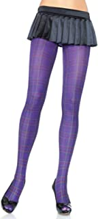 colorful patterned tights