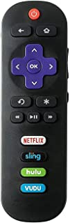 Remote Control fit for TCL Roku TV 65S405 65S401 55UP120 55US57 55S401 55S405 50FS3750 55FS3700 49S405 48FS3700 48FS3750 43FP110 43UP120 43S405 40FS3800 40S3800 32S3850 32S3700 32S3800 32S301 32S800