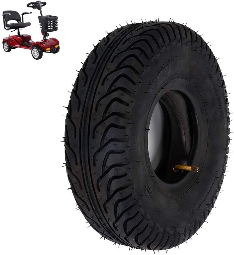 XYSQWZ Electric Scooter Regular store Tires 4.00 Cheap Wear Pneumatic 5 T Resistant