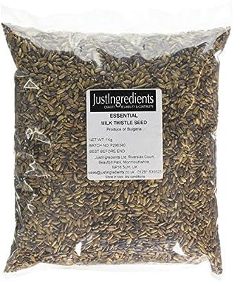 JustIngredients Essential Milk Thistle Seeds 1 Kg