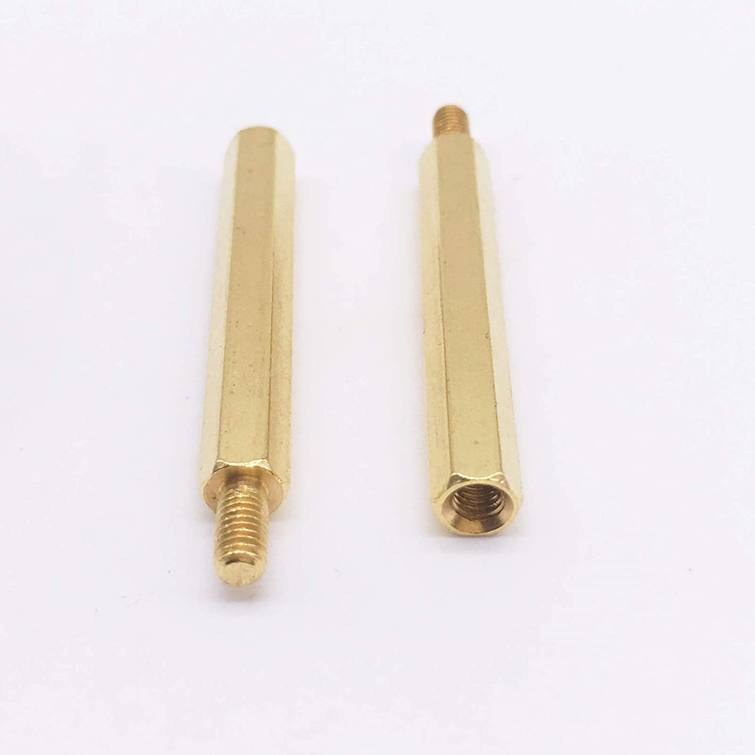 M3x38+6 Spacer Screws M3 Max Long Beach Mall 51% OFF Hex Standoff Brass to Nuts Female Male