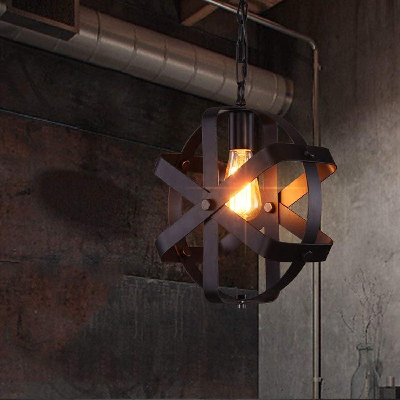 CN Kronleuchter Retro Kronleuchter Restaurant Bar Kreative Lampe Nordic Einfache Bar Gang Treppenhaus Eisen Kronleuchter B07K65HLRP   Bunt,