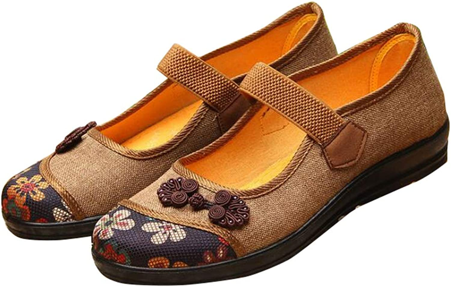 Gusha Vintage Mary Jane shoes Comfortable shoes Loafers Flat shoes