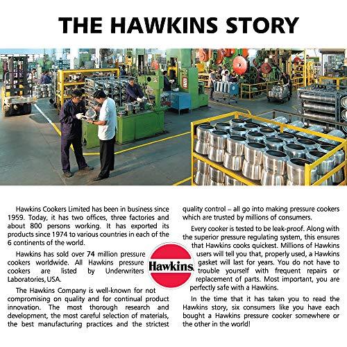 HAWKINS Contura Autocuiseur en Aluminium anodisé Dur, 2.0Litre