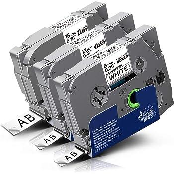Schriftband Tape 12mm für BROTHER P-Touch P700 TZE-231