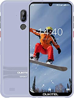 OUKITEL Y1000 Rugged Smart Phones, Waterproof Unlocked Cell Phones 6.1 Inches Android Phones 9.0 Dual SIM 2GB+32GB Outdoor...